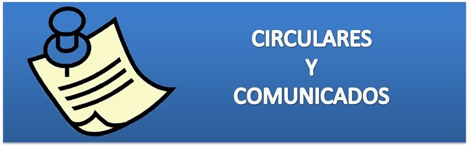 BANNER CIRCULARES Y COMUNICADOS